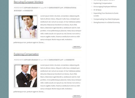 Fit is a flexible wordpress theme designed for law firms