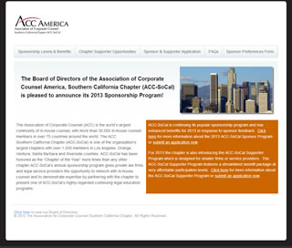 Association of Corporate Counsel Southern California